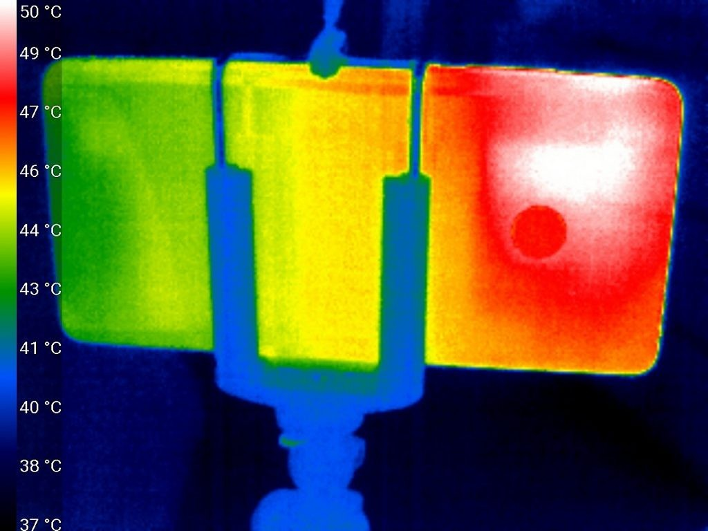 Xiaomi Mi Note 2 Thermal Image