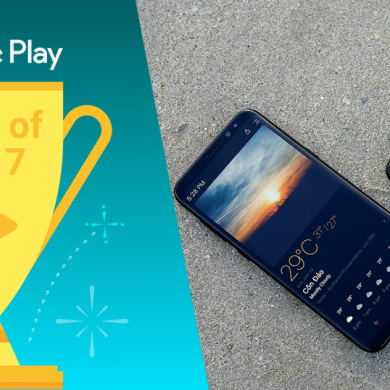 Today Weather, Our Weather App Pick for AMOLED, was Chosen as one of Google Play's Best Apps of 2017