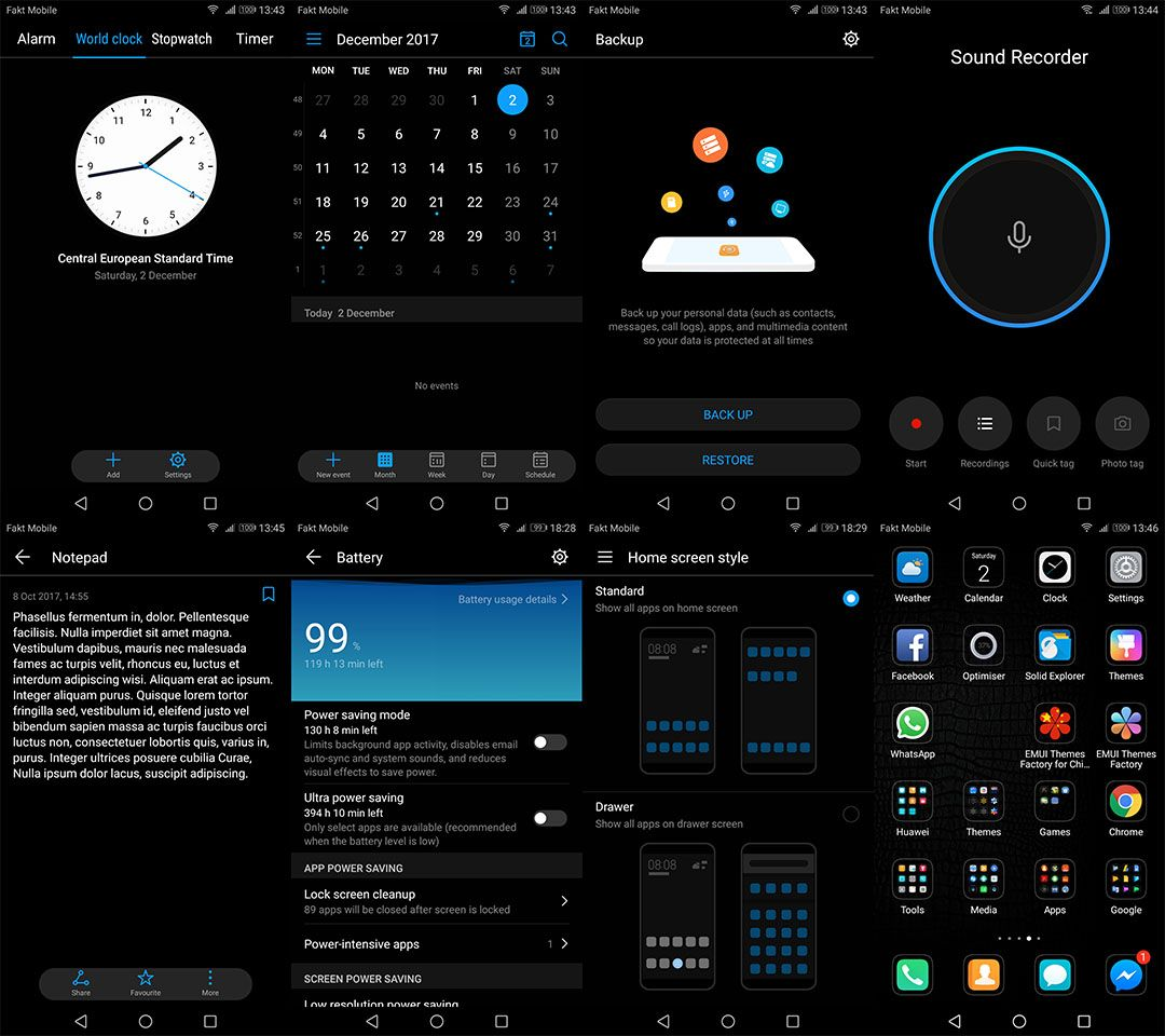 Install a Free EMUI Dark Theme on the Huawei Mate 10