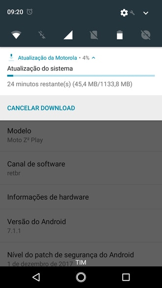 - 314778 - Motorola Moto Z2 Play Android Oreo Update is Being Soak Tested in Brazil
