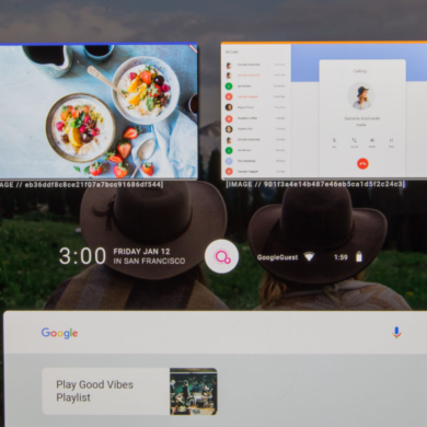 This is Google's Fuchsia OS running on the Pixelbook [Video]