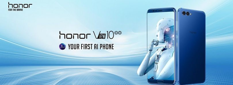 Honor View 10 Launched in India for Rs. 29,999 ($473), will be Available from January 8