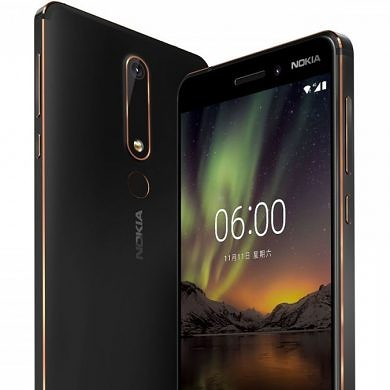 Nokia 6 (2018) Official with Snapdragon 630 SoC, Bothie Camera Mode and OZO Audio