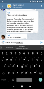 Gboard Email Address Autocompletion