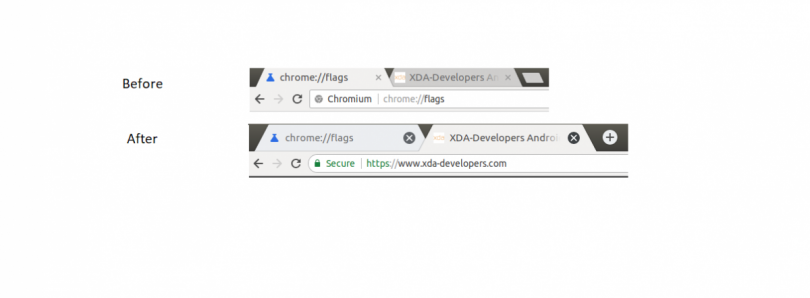 Google Chrome's Top Bar is getting Touch Optimized in Preparation for Chrome OS Tablets