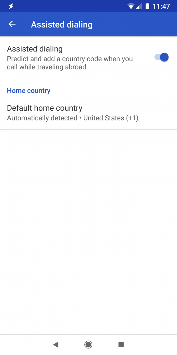 How To Dial Home From Abroad On Google Fi