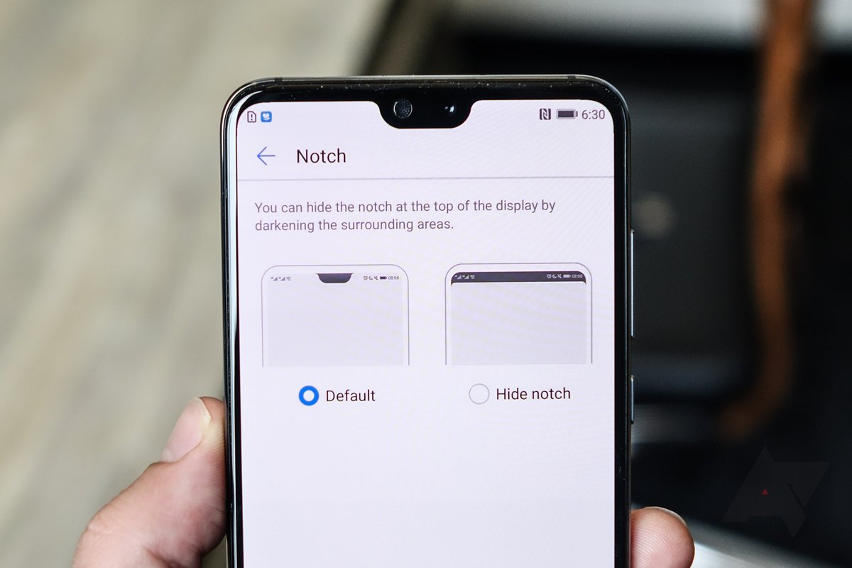 Would you buy a phone with a display notch if you could ...
