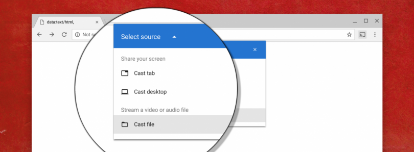 Google chrome will finally support casting local files ccuart Image collections