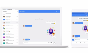 Here's what Android Messages for Web will look like