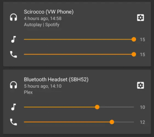 Android P Bluetooth Device Volume Control