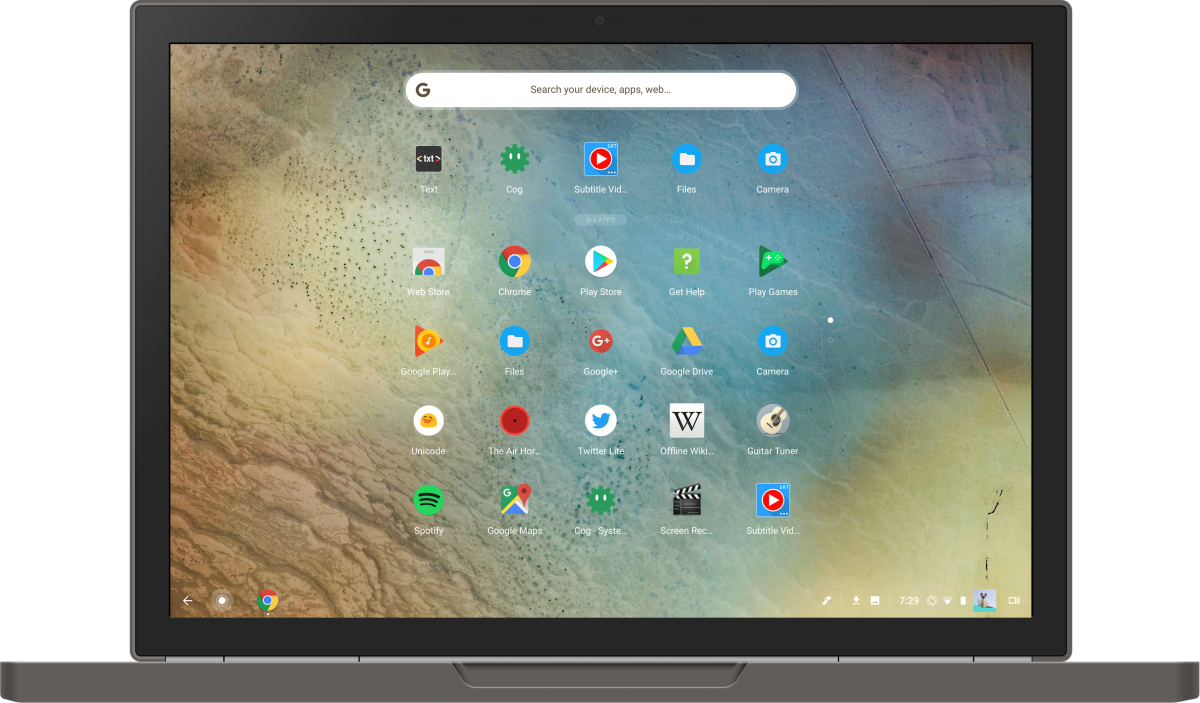 "Chrome OS getting ""Select All"" in File Manager app for"