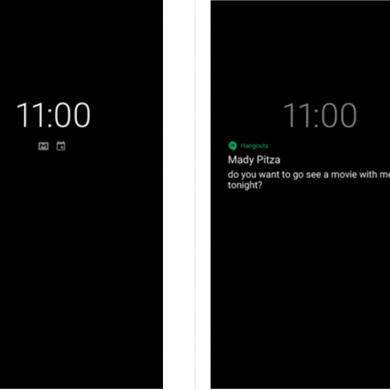 Android P may bring wallpaper support to the Google Pixel 2/2 XL's Always on Display