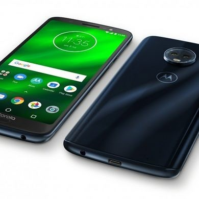 Moto G6 Plus is now official with a 5.9-inch Full HD+ display and the Snapdragon 630 SoC