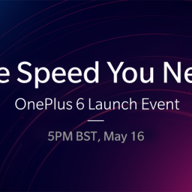 OnePlus 6 will be officially announced on May 16th, launch in India on May 21st