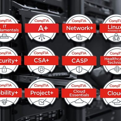 Earn IT's Most Valuable Certifications with This CompTIA Training Bundle
