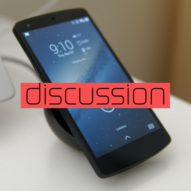 Do you care about having wireless charging on an Android device?