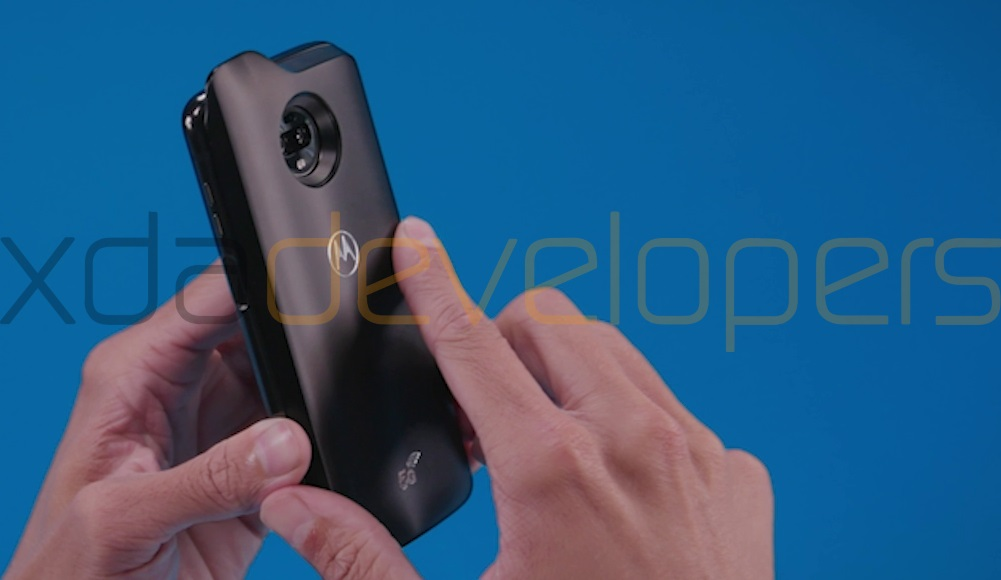Exclusive: Moto Z3 Play and 5G Moto Mod Showcased in New Leaked Pictures