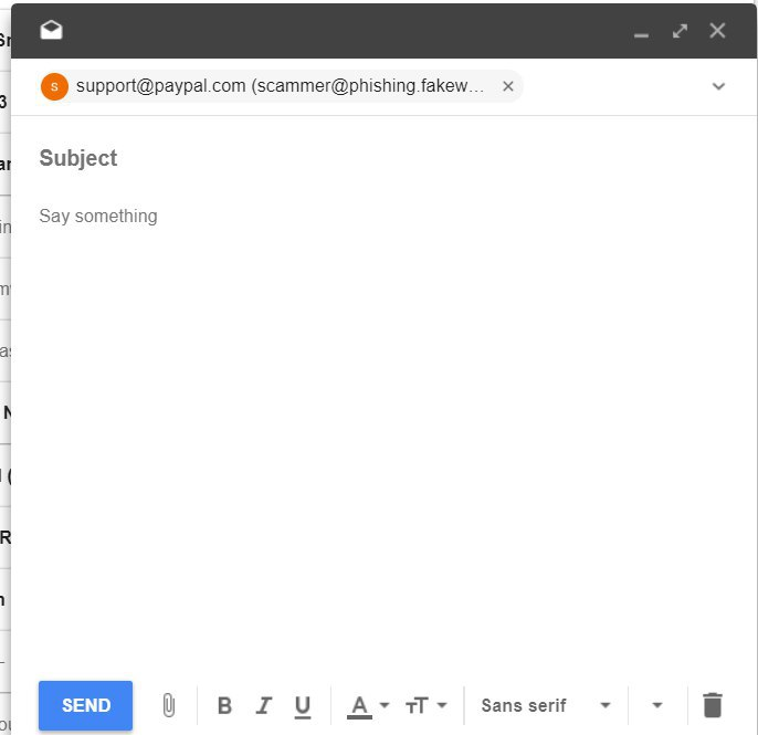 Inbox by Gmail Spoof