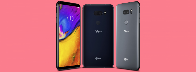 The AT&T LG V35 ThinQ is an LG G7 with an OLED screen but no notch