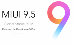 MIUI 9.5 Global Stable ROM officially available for the Xiaomi Redmi Note 5 Pro