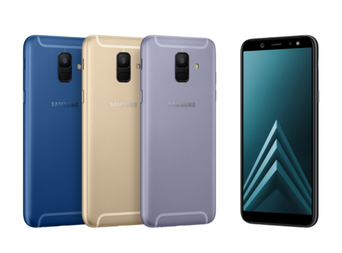 Samsung Galaxy A6, Galaxy A6+ Go Official With Infinity Displays