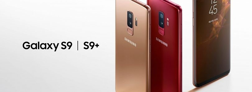 Samsung Galaxy S9/S9+ will be available in new Sunrise Gold & Burgundy Red colors