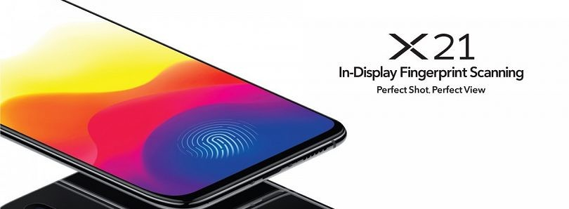 Vivo X21 launched in India with in-display fingerprint sensor and Qualcomm Snapdragon 660 SoC