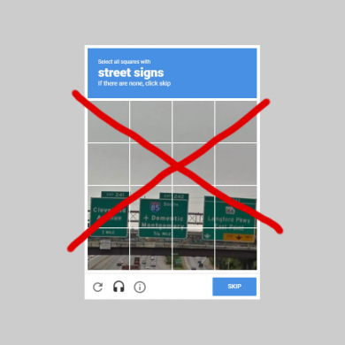 reCAPTCHA v3 beta will detect if you're human without annoying interactive challenges