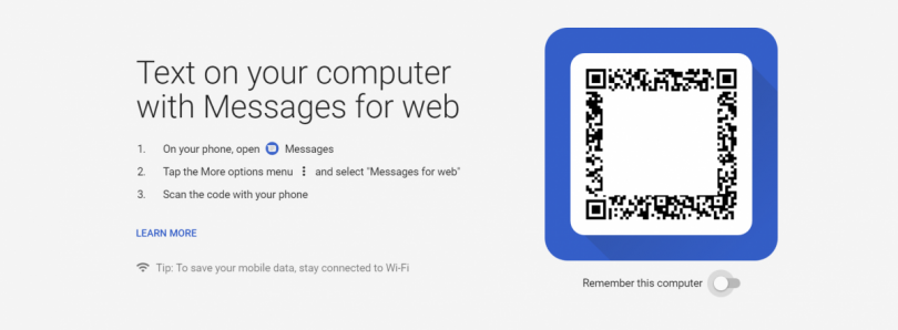 [Update: Official] Android Messages for desktop browsers like Google Chrome, Firefox, and more is going live