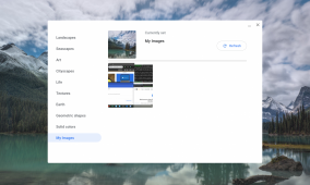 Chromecast-like backdrop feature coming to Chromebooks with new wallpaper picker