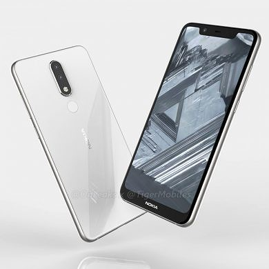 Alleged Nokia 5.1 Plus specifications and renders appear on TENAA