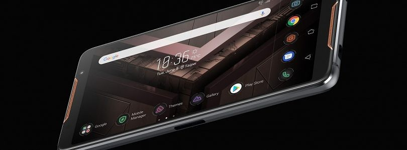 The ASUS ROG Phone is a gaming phone with an overclocked Snapdragon 845 and a 90Hz screen
