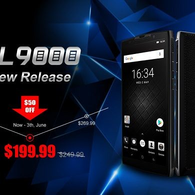 DOOGEE BL9000 is Now Available on Banggood & Select Pre-orders Get 50% Off
