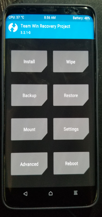Unofficial TWRP now available for Snapdragon Samsung Galaxy