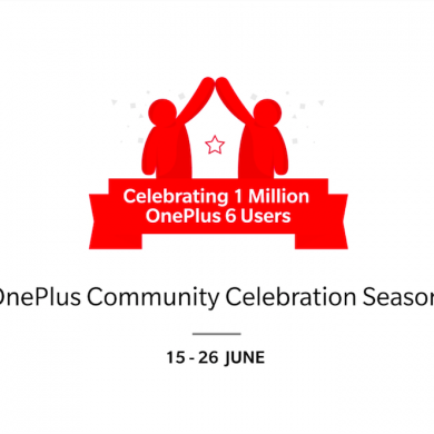 OnePlus celebrates their OnePlus 6 success with giveaways, discounts, and special offers in India