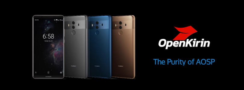 Team OpenKirin opens website to support all EMUI 8 Huawei/Honor devices