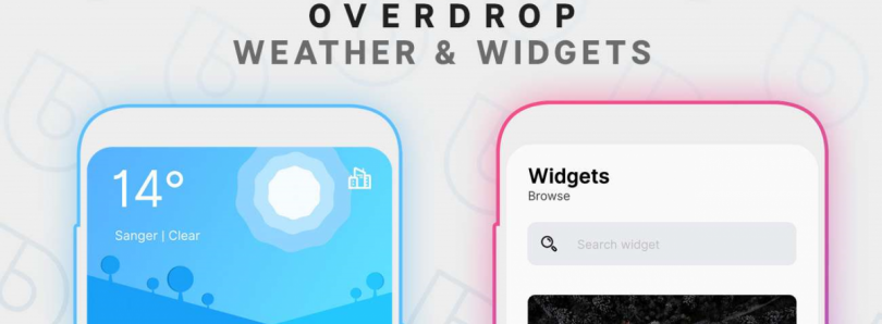 Overdrop is a minimalist, stylish new weather app