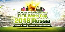Play DOOGEE's FIFA 2018 World Cup Game and Win a Lifetime of New DOOGEE Phones