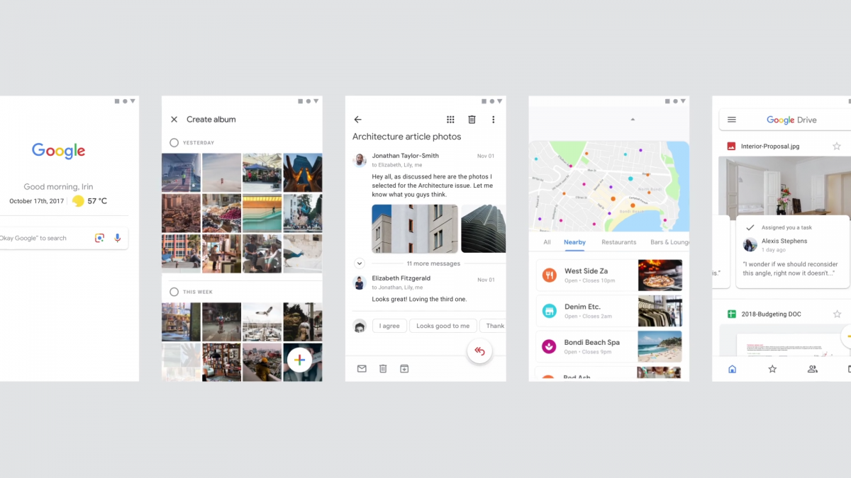 Material Theme redesign teased for Gmail, Google Photos, and more