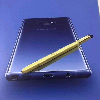 Samsung Galaxy Note 9 leak shows off new color and Bluetooth S Pen