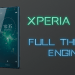 Sony Xperia XZ2's full theme engine ported to older Xperia devices