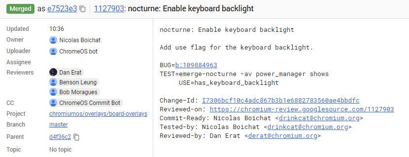 backlit keyboard chromebook nocturne