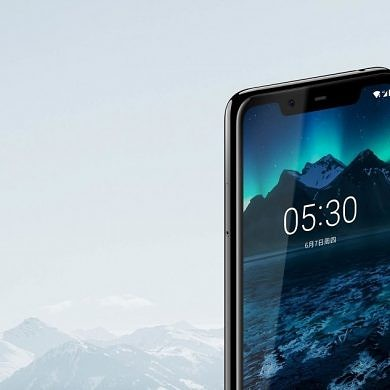 Nokia X5 launched in China with a notched display