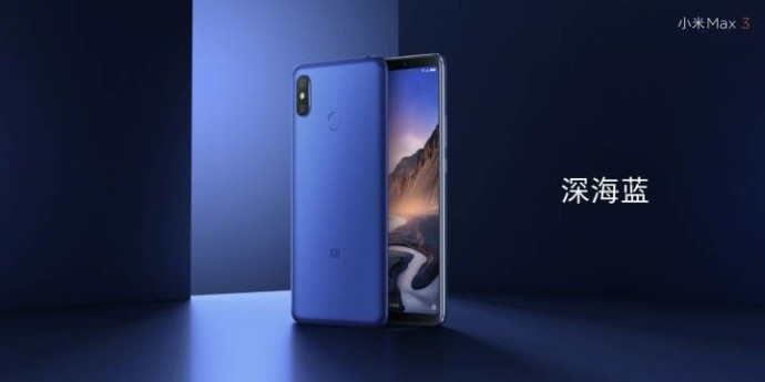 Xiaomi Mi Max 3 boasts a giant 6.9-inch display